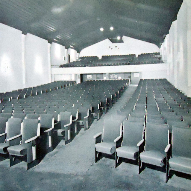 Holiday Theatre auditorium