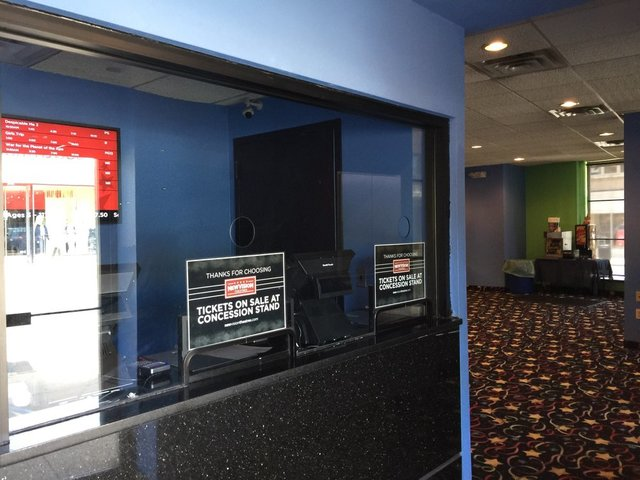 Theater box office