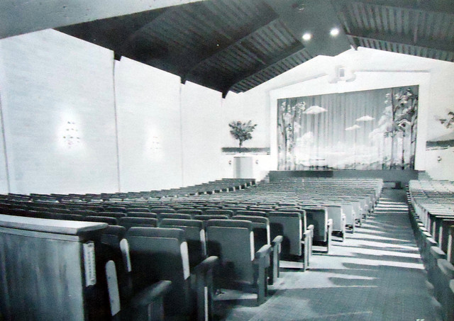 Holiday Theatre auditorium