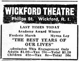 Wickford Theatre