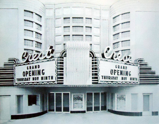 Image Gallery movie theater exterior