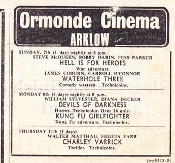 Ormonde Cinema Arklow