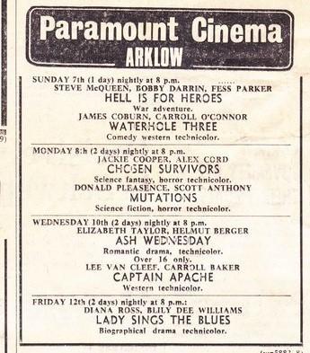 Paramount Cinema Arklow