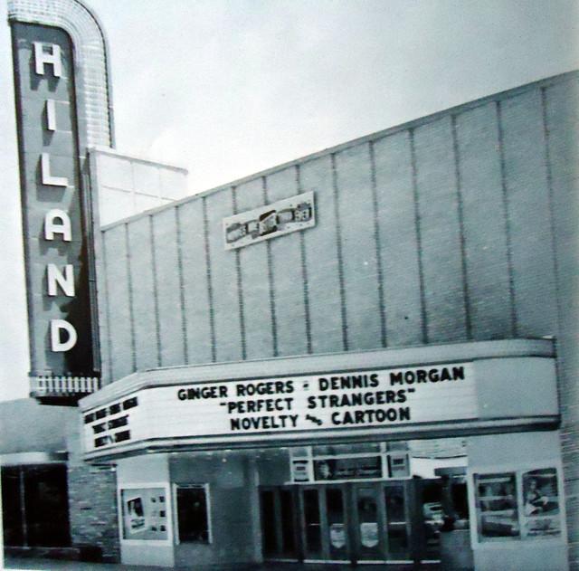 Hiland Theatre exterior