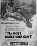 THE MOST DANGEROUS GAME(1932)
