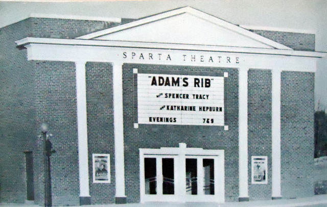 Sparta Theatre exterior