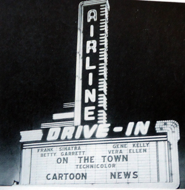 Airline Drive-In marquee