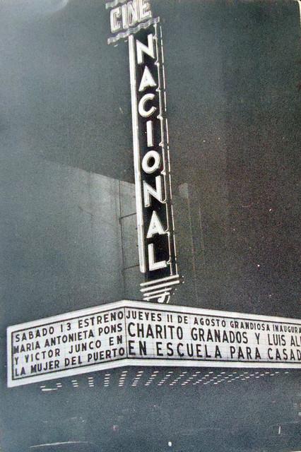 Cine Nacional exterior