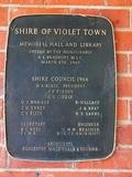 Violet Town Memorial Hall