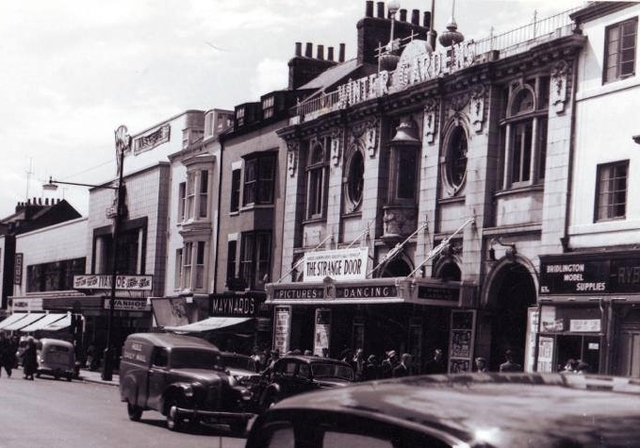 Winter Gardens and Regal cinemas Bridlington
