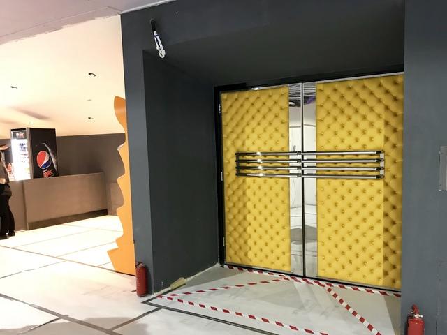IMAX entrance