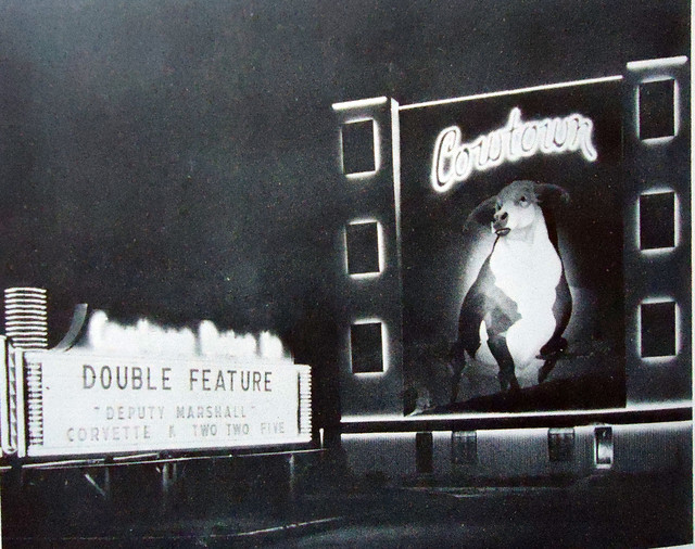Cowtown Drive-In exterior