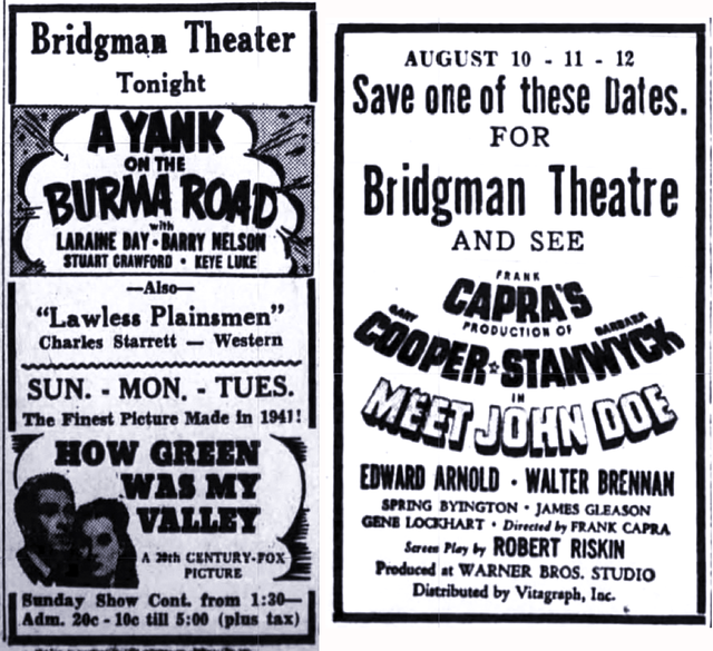 Bridgman Theatre