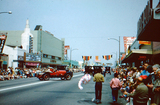 San Fernando Blvd. Burbank on Parade, 1954. Photo by Eudell McGinnis.