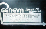 Geneva Drive-In marquee sign