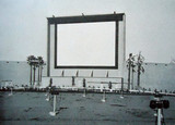 Whittier Drive-In old screen (non-widescreen)