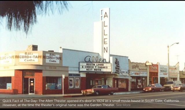 Allen Theatre 1986