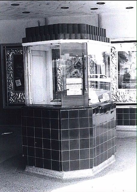 Allen Theatre ticket booth