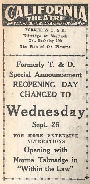 September 21, 1923