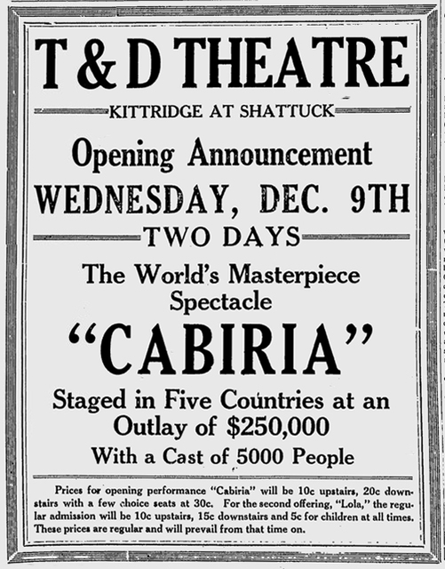 Berkeley Gazette, December 9, 1914