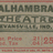 An Alhambra ticket from the 50s.
