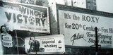 Roxy Theatre ad billboards 