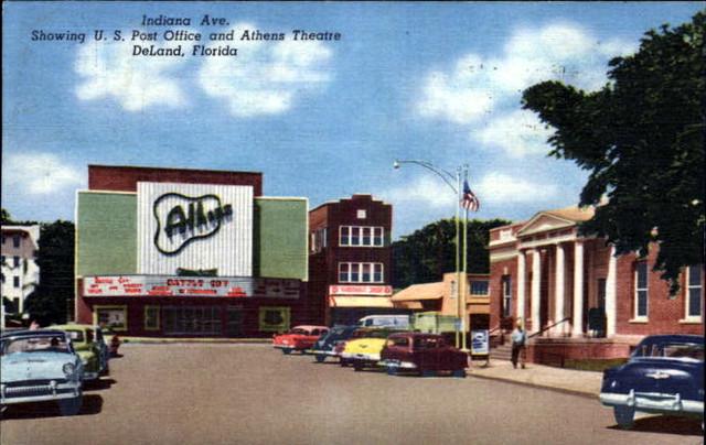 Athens Theatre exterior