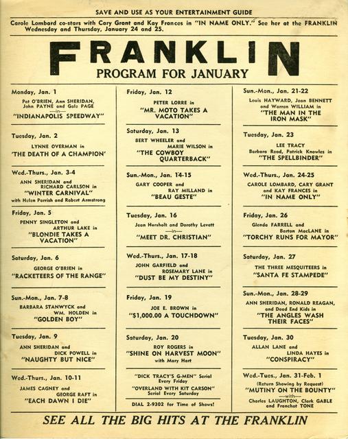 Franklin (Studio Art)