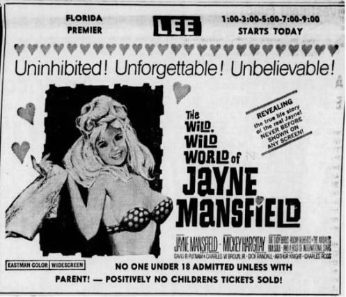 WILD,WILD WORLD OF JAN MANSFIELD