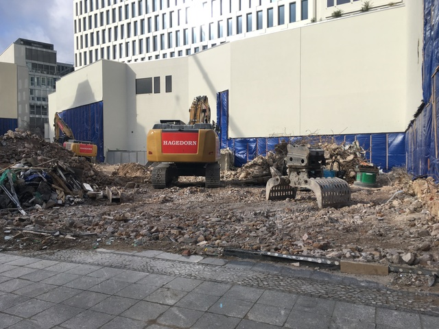 gloria Palast Berlin demolition Feb 2018