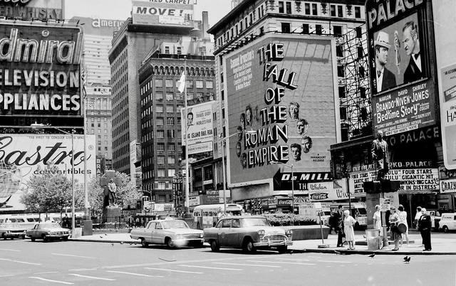 1964 photo via Al Ponte's Time Machine-New York Facebook page.