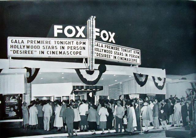 Fox Trona Theatre exterior