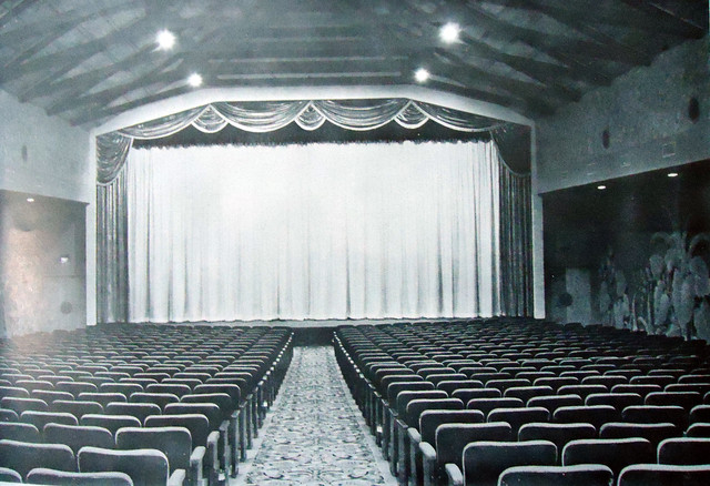 Fox Trona Theatre auditorium