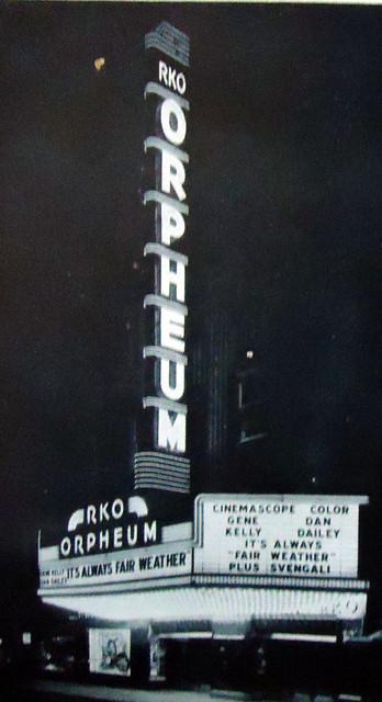 RKO's Orpheum Theatre exterior