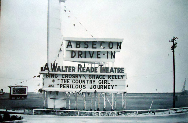 Absecon Drive-In exterior marquee sign
