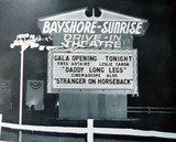 Bayshore-Sunrise Drive-In marquee sign