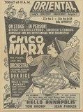 CHICO MARX (IN PERSON)