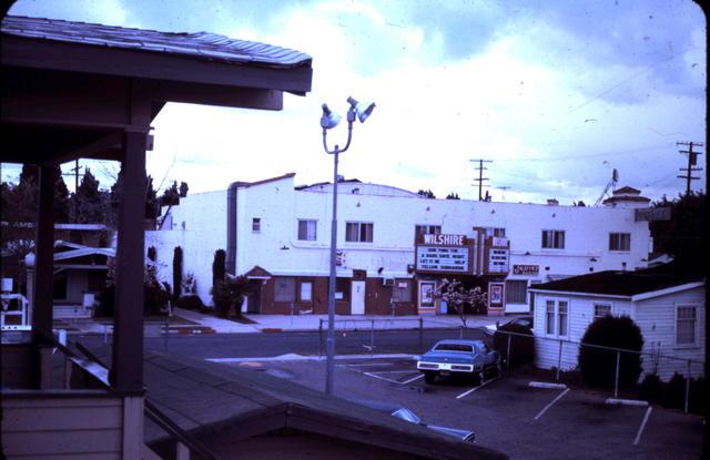 Wilshire Theatre 1973