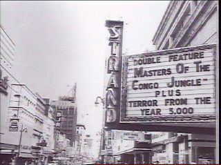 The last marquee of the Strand Theatre