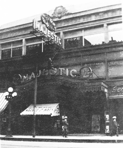 Earliest photo of the Strand as the Majestic #2.