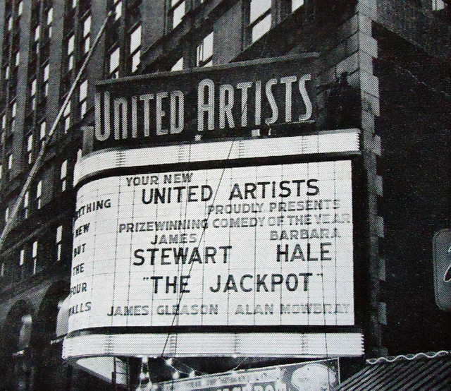 United Artists Theatre exterior (remodeled marquee)