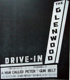 Glenwood Drive-In marquee sign