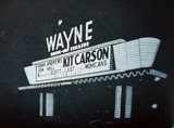 Wayne Drive-In marquee sign