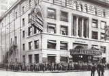 Exterior of Lyceum theatre in the thirties.