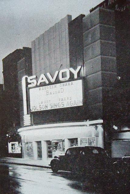 Savoy Theatre exterior
