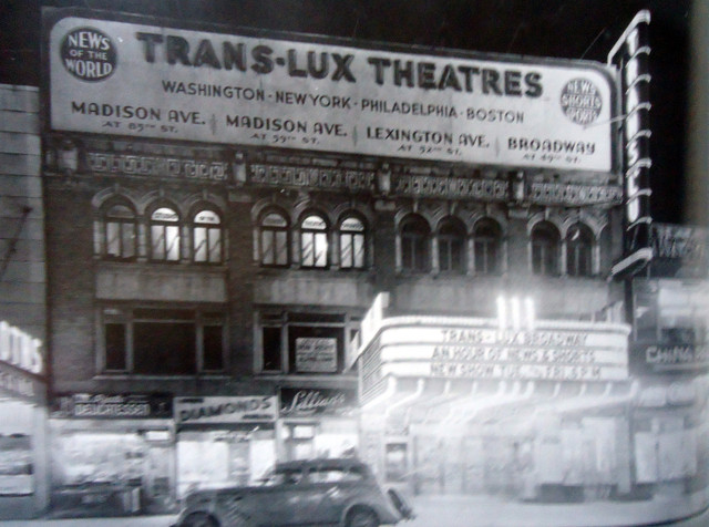 Trans-Lux 49th Street Theatre exterior