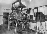 The Odeon projection box, 1936