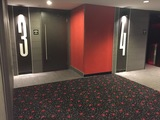 New hallway for theaters 3 and 4