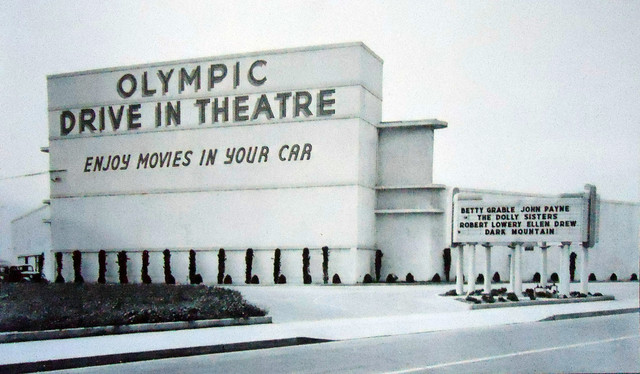 Olympic Drive In In Los Angeles Ca Cinema Treasures