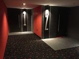 New theater 1/2 hallway